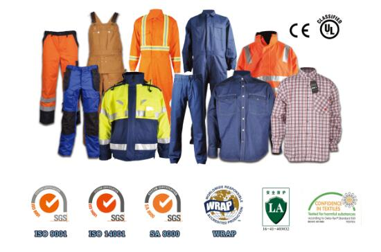construction safety work clothing